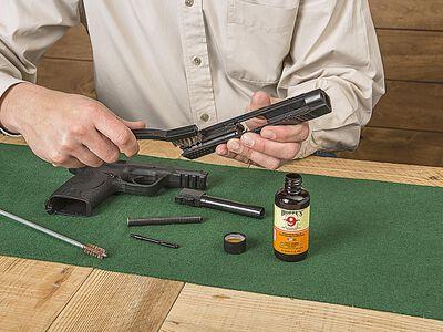 5 Steps to Proper Gun Cleaning for Handguns