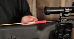 How to Clean a Rifle with Rods