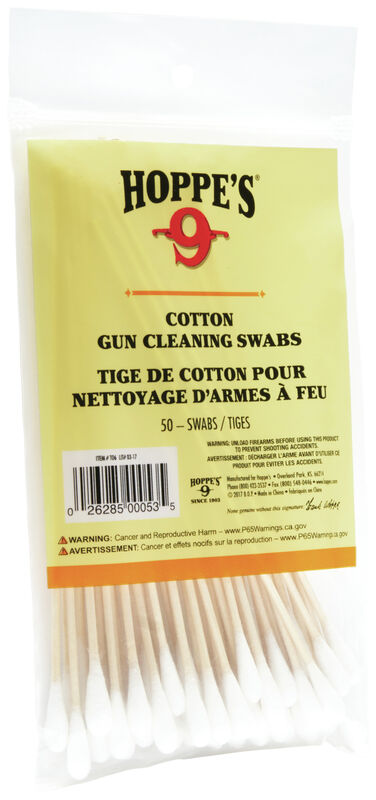 Gun Cleaning Swabs