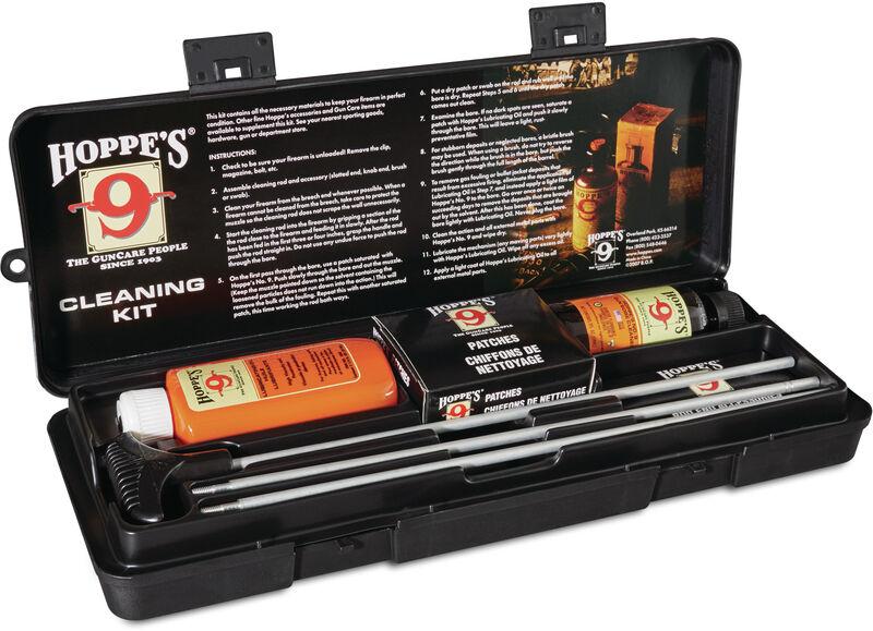 Rifle & Shotgun Cleaning Kit with Aluminum Rod