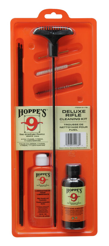 Cleaning Kit - .17/.204 with Steel Rod
