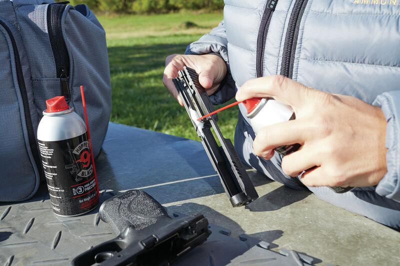 Black Aerosols Gun Care