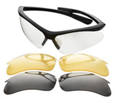 Interchangeable Lens Set Ballistic Shooting Glasses