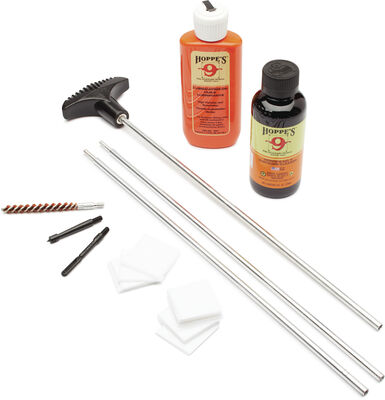 Pistol & Rifle Cleaning Kit with Aluminum Rod