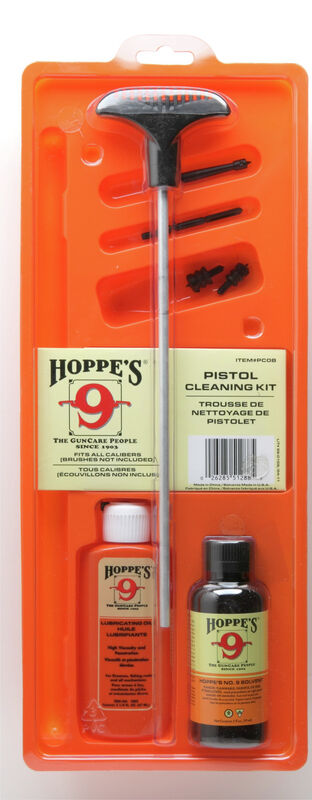 Pistol Cleaning Kit with Aluminum Rod